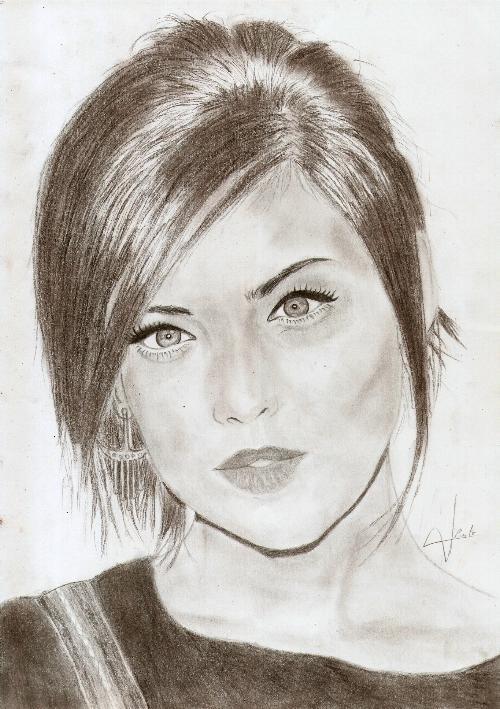 Jessica Stroup by fabilou